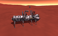 A base for the stay on Duna had already been constructed by remote control