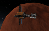 Arriving at Duna